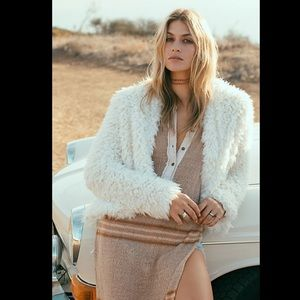 Free People Once Upon A Hood Coat